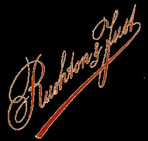 Rushton & Just logo c1884