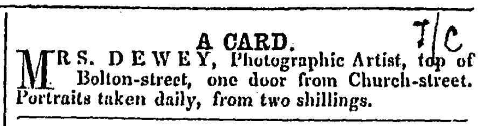 Feb 1 Dewey 1 Feb 1862