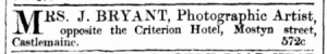 from Mount Alexander Mail, 18 April 1859