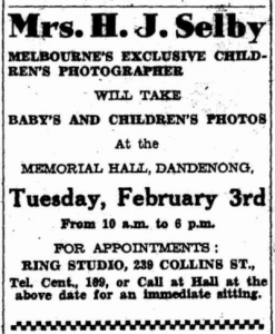 from The Dandenong Journal 28 Jan 1948